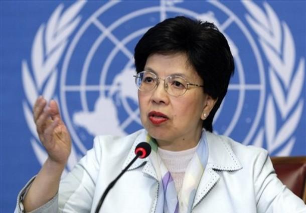 Margaret Chan, directora general de la OMS.