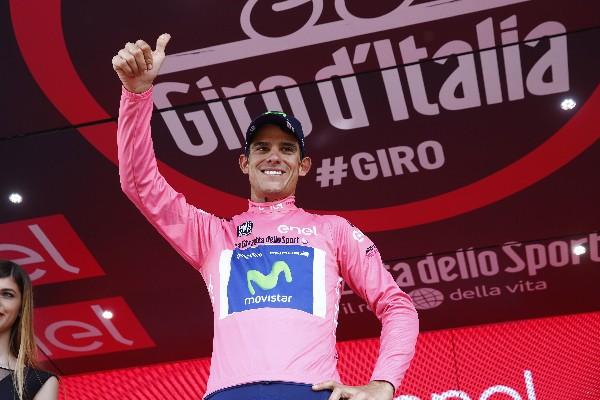 El costarricense Andrey Amador es el nuevo líder del Giro de Italia.