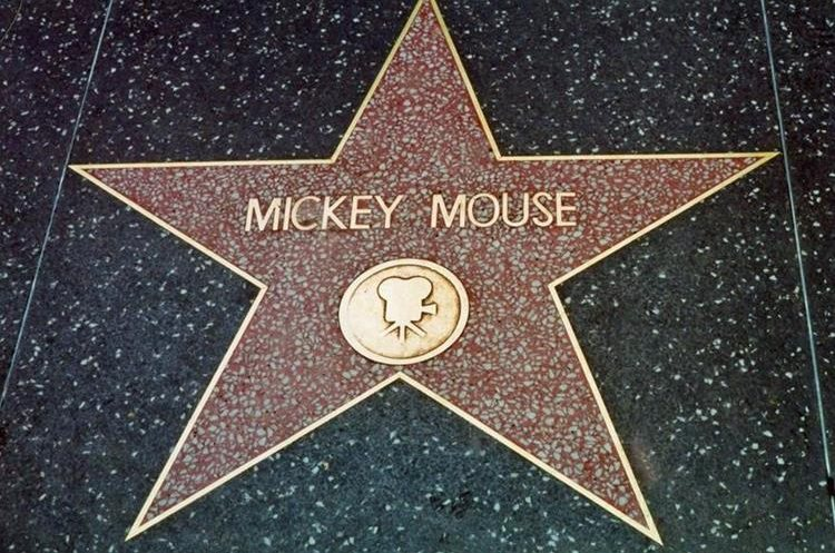 The name of the mouse is part of the Walk of Fame. (Photo Prensa Libre: PL Newspaper Library)