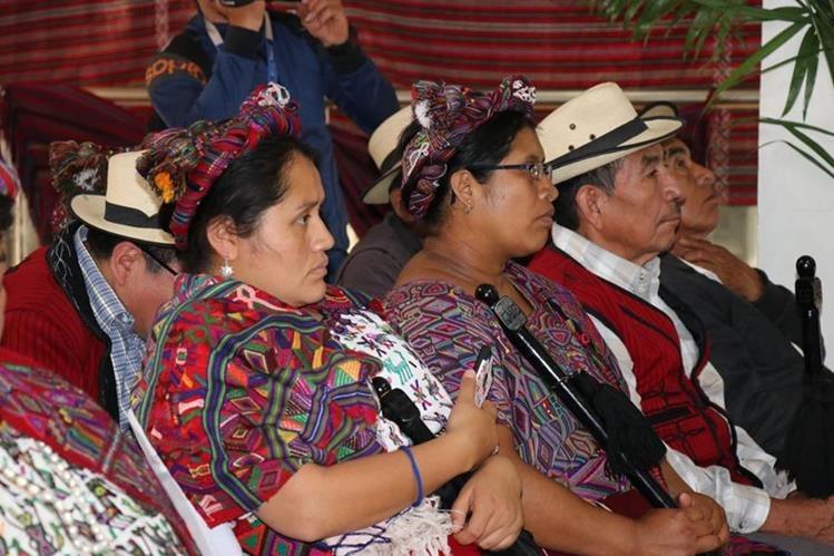 Las mujeres del norte de Quiché son víctimas de violencia y ahora contarán con una Fiscalía especializada en Nebaj para interponer denuncias (Foto Prensa Libre: Héctor Cordero)