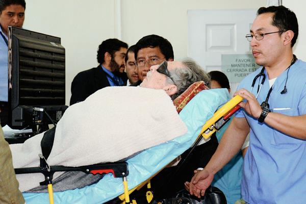 Efraín Ríos Montt podría necesitar atención psiquiatrica. (Foto Prensa Libre: Hemeroteca PL)