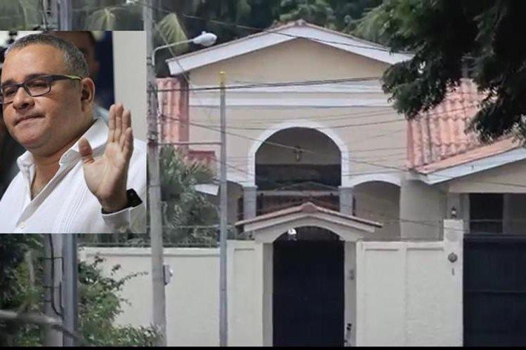 Mauricio Funes (inserto) vive en un sector residencial de Managua,Nicaragua. (Foto Prensa Libre: La Prensa).
