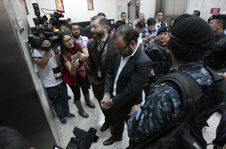 Juan Arturo Jegerlehner Morales, concuño de Alejandro Sinibaldi, fue capturado por estar sindicado en el caso Construcción y Corrupción. (Foto Prensa Libre: Carlos Hernández)