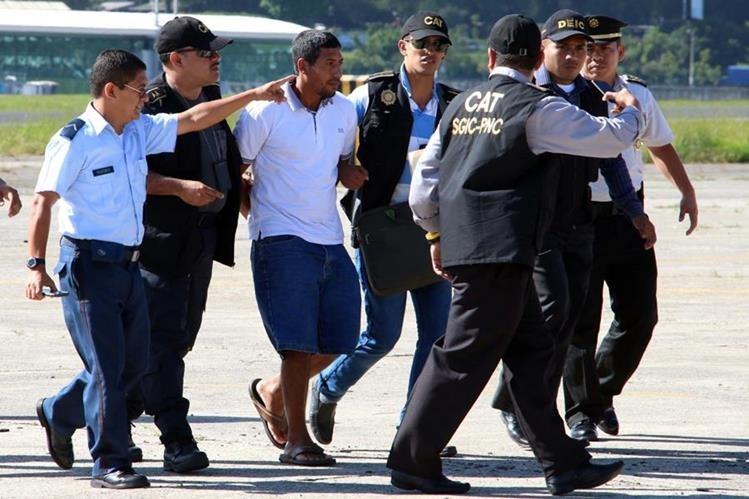 Manolo Montepeque Urías llegó al país deportado de México el pasado 14 de octubre. (Foto Prensa Libre: Hemeroteca PL)