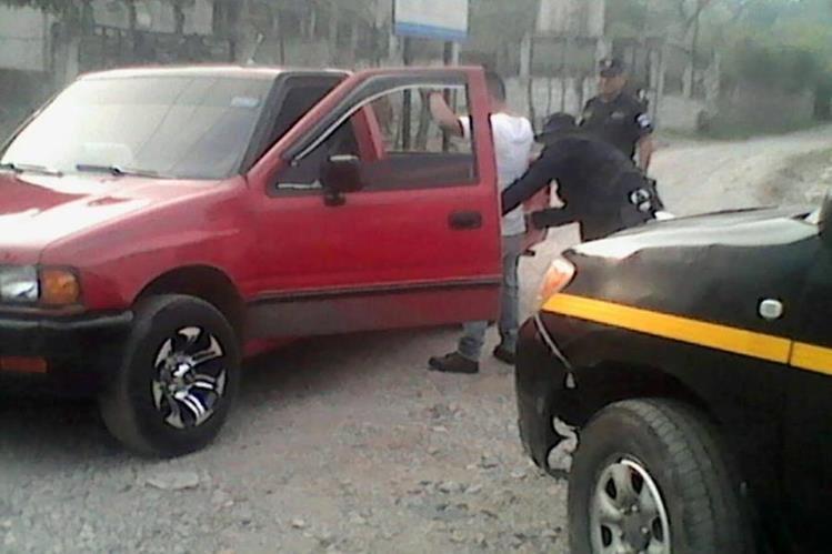 La PNC implementa anillos de seguridad para evitar el ingreso de pandilleros de El Salvador. (Foto Prensa Libre: PNC)