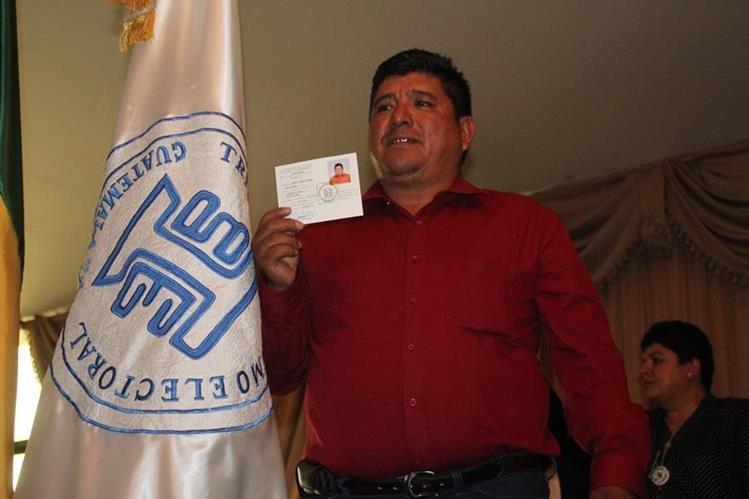 Andrés Alonzo Pascual, alcalde de San Mateo Ixtatán, Huehutenango, quien perdió su inmunidad por varios delitos. (Foto Prensa Libre: Mike Castillo)