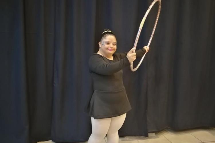 Diana Carolina Paz se prepara para representar a Guatemala. (Foto Prensa Libre: Oscar García).