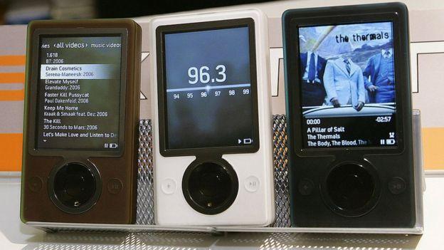 Zune fue el reproductor de música de Microsoft. (AFP)