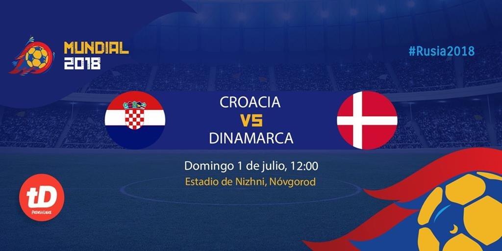 EN DIRECTO   Croacia - Dinamarca