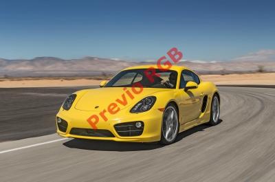 Esta versión  tiene motor 3.8 litros. (Foto Prensa Libre. Cortesía Porsche).