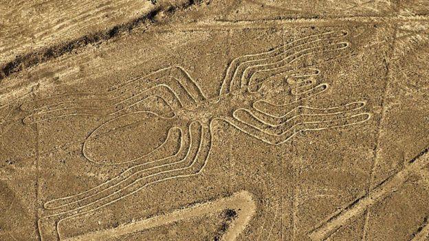 Hasta ahora no se sabe a ciencia cierta el propósito de los geoglifos de Nasca. GETTY IMAGES