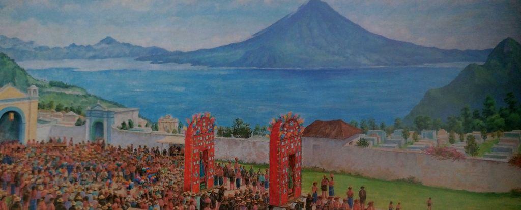 Óleo sobre tela pintado en 1983 por José Luis Álvarez (1917-2012). (Foto: Nuestra colección de arte moderno y contemporáneo).