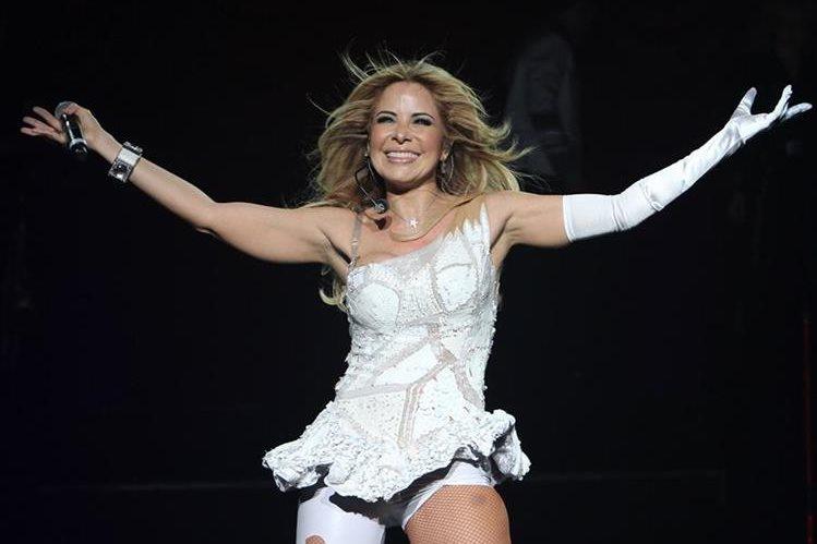 Gloria Trevi promociona su disco El amor, que la lleva de gira por México. (Foto Prensa Libre: Hemeroteca PL)