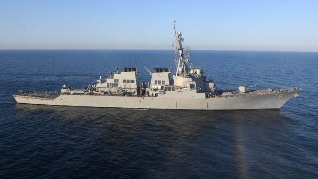 Los destructores son barcos de guerra capaces de cumplir misiones antiaéreas y antisubmarinas, según la Marina de EE.UU. (foto referencial). AFP