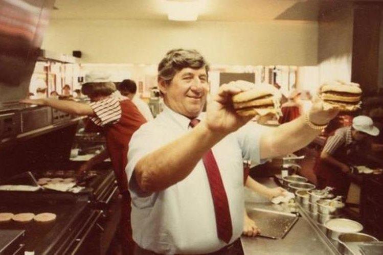 El creador del Big Mac murió a los 98 años. MCDONALD'S