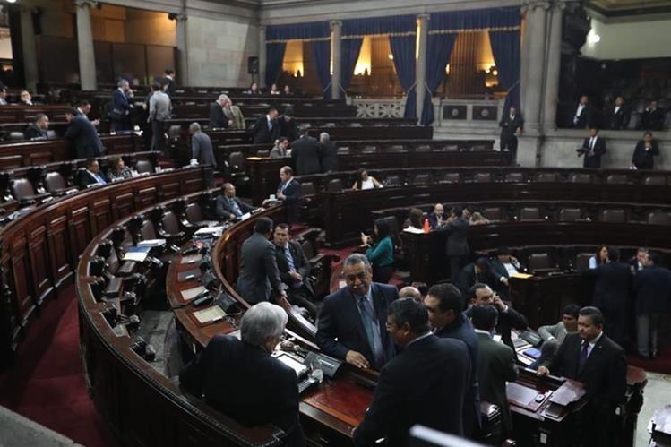 El Congreso entra en receso legislativo a partir del 1 de diciembre y regresa a actividades a partir del 14 de enero del próximo año. (Foto Prensa Libre: Óscar Rivas)