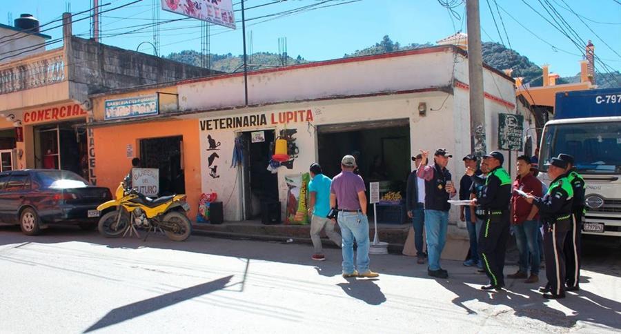 Los comercios abundan en la cabecera municipal. (Foto: Facebook/comuna San Pedro Soloma)
