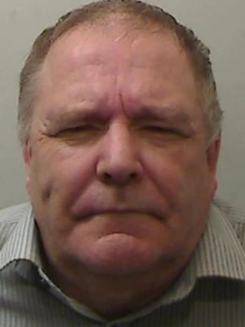 Keith Baker, de 61 años, fue condenado a 15 años de prisión. POLICÍA DE IRLANDA DEL NORTE