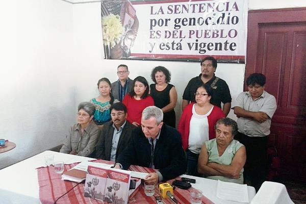 El Centro de Acción Legal en Derechos Humanos exige se integre Sala de Apelaciones para conocer caso por genocidio
