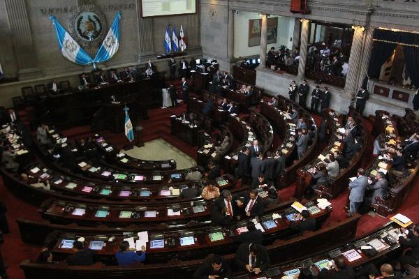La nueva organización laboral en el congreso se denomina, Sindicato General de Empleados del Congreso (Sigecor). (Foto Prensa Libre: Hemeroteca PL)