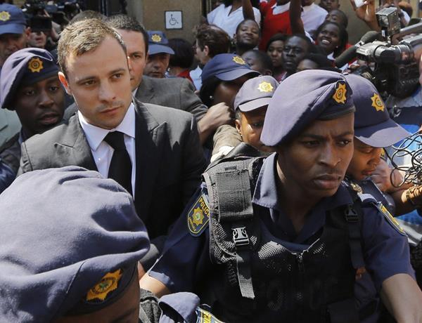 Oscar Pistorius cumple su condena en sudáfrica. (Foto Prensa Libre: Hemeroteca PL)