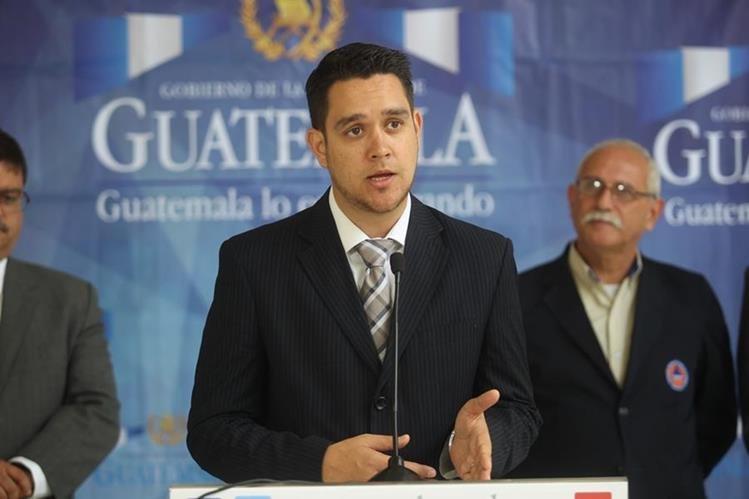 Renuncia viceministro de Vivienda Carlos Barillas. (Foto Prensa Libre: Hemeroteca PL)