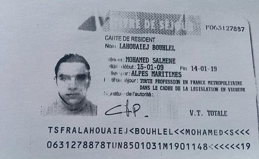Fotografía del sospechoso, Mohamed Lahouaiej-Bouhlel. (Foto Prensa Libre: AFP).