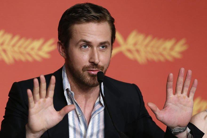 Ryan Gosling estuvo en el Festival de Cannes, en Francia, en el 2016. (Foto Prensa Libre: EFE).
