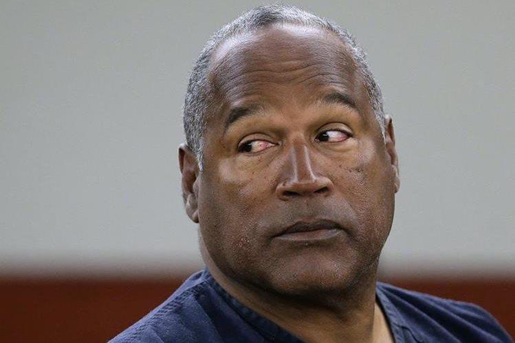 O.J. Simpson tiene una audiencia de libertad condicional el 20 de julio.(AP).
