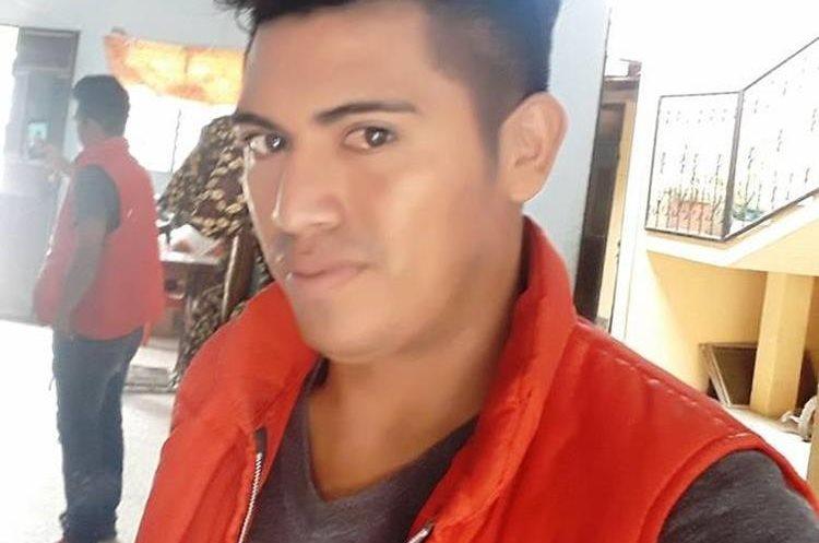 Rigoberto Linares García, de 26 años, es una de las víctimas del hecho de tránsito en Chiquimula. (Foto Prensa Libre: Mario Morales)