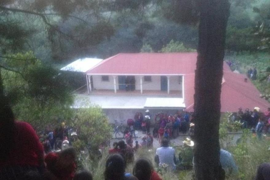 Lugar donde ocurrió el crimen en San Miguel Siguilá. (Foto Prensa Libre: Hemeroteca PL).