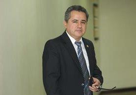 Pavel Centeno fue Ministro de Finanzas Publicas nombrado por el expresidente Otto Pérez Molina. (Foto Prensa Libre: Hemeroteca PL)