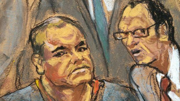 Guzmán se declaró inocente de los 17 cargos que le imputan. ROITERS