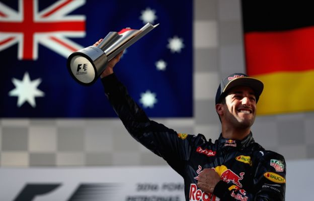 La carrera la ganó el australiano Ricciardo. (Getty)
