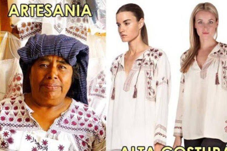 Los diseños nativos de Oaxaca son utilizados en Francia. (Foto Prensa Libre: imparcialoaxaca.mx)