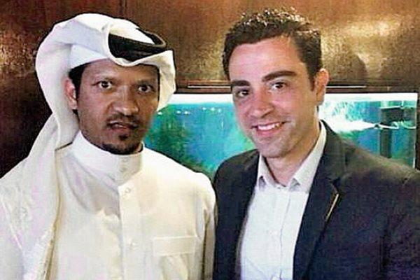 Está fue la fotografía que público el gerente de Al Sadd. (Foto Prensa Libre: Instagram)