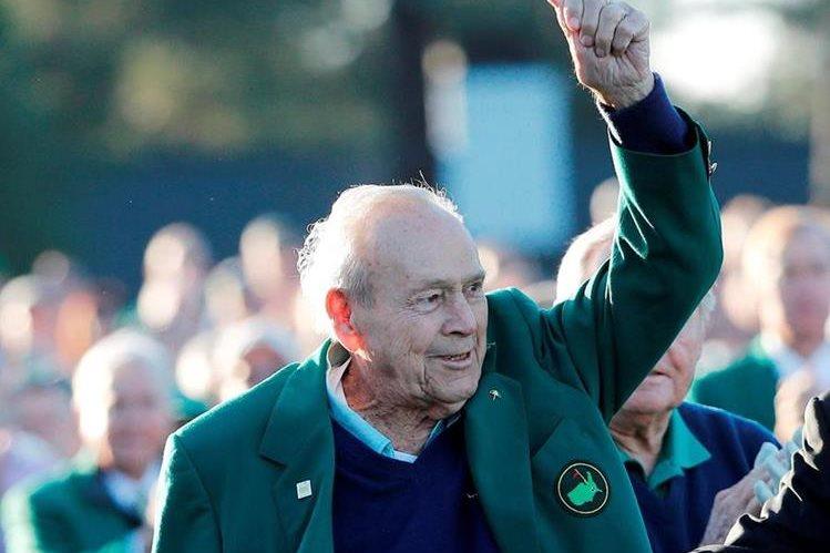 Palmer figuró entre los más importantes en la historia del golf. (Foto Prensa Libre: EFE).