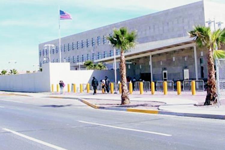 La embajada de EE. UU. en México informó sobre el robo del camión. (Foto: info7.mx).