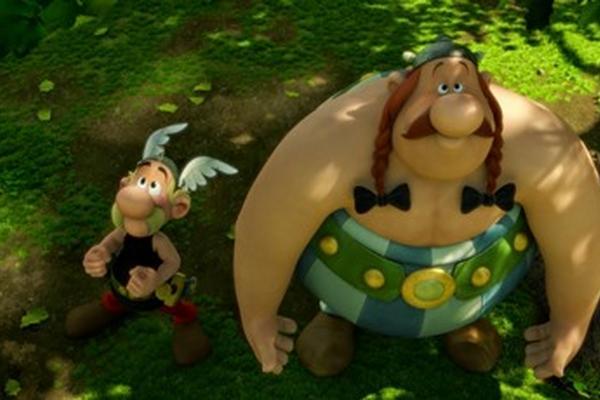 <p>Imagen de  una de las escenas de la nueva película de Asterix y Obelix en 3D. (Foto Prensa Libre: Archivo)</p>