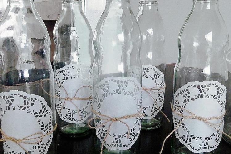 Variedad de adornos se pueden hacer con variedad de productos que hay en el hogar. (Foto Prensa Libre: Hemeroteca PL)