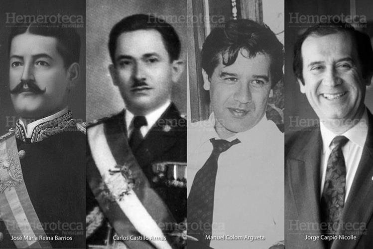 Personajes de la historia política que han sido asesinados. (Foto: Hemeroteca PL)
