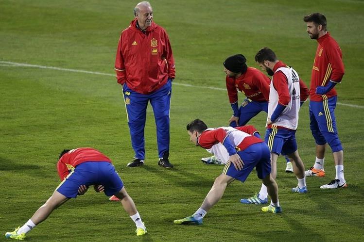 Selección de España se alista para sostener varios partidos amistosos. (Foto Prensa Libre: AFP)