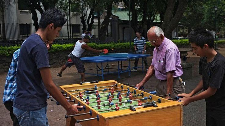 La de Costa Rica también es una población mestiza. AFP