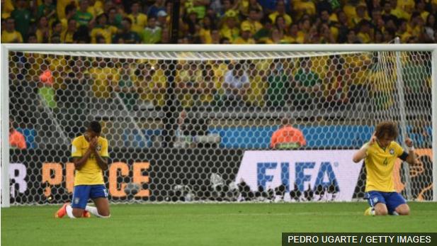 El peor día en la historia del fútbol brasileño, por lo menos el más doloroso para todas las generaciones que no vivieron el Maracanazo de 1950.