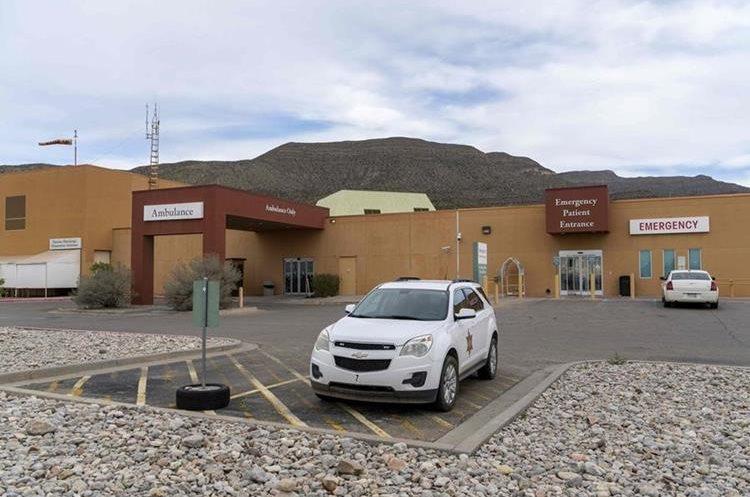 Centro hospitalario Gerald Champion, en Alamogordo, Nuevo México, donde Felipe Alonzo fue atendido. (Foto Prensa Libre: AFP)