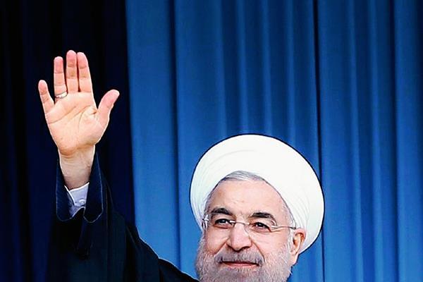 El presidente iraní Hassan Rouhani. (Foto Prensa Libre: AFP)