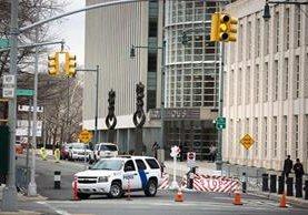 Vista de la Corte Federal de Brooklyn, Nueva York. (AFP)