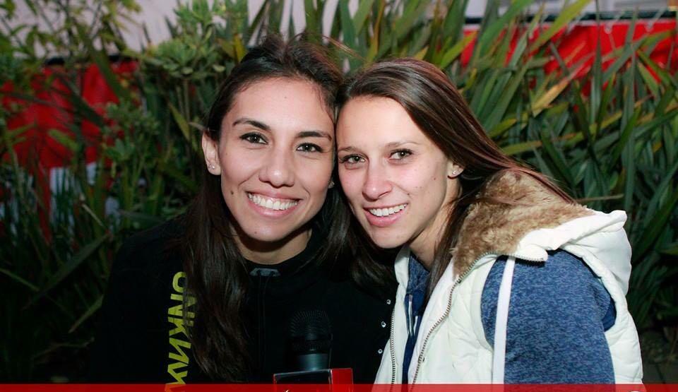 Vera Valdez y Silvana Brolo han fomentado una gran amistad por el deporte. (Foto cortesía Vera Valdez).