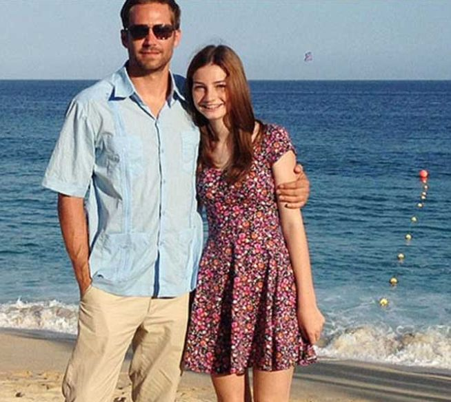 Paul Walker junto a su hija Meadow Walker. (Foto Prensa Libre: Hemeroteca PL)