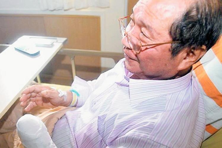 Empresario taiwanés se corto la mano izquierda por tratar de engañar al seguro.(Foto Prensa Libre:EFE).